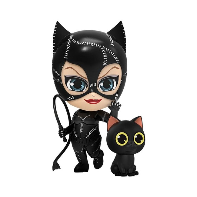 Hot Toys Batman Returns Cosbaby Mini Figures Catwoman with Whip 12 cm