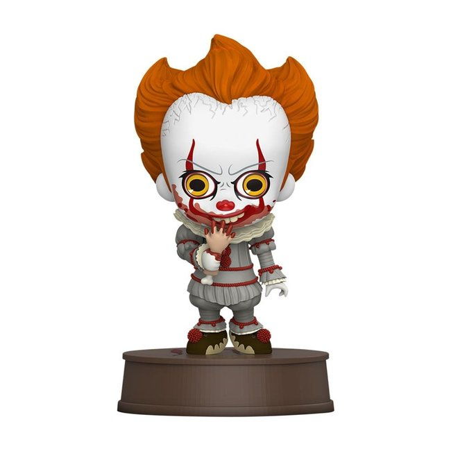 Hot Toys It Chapter Two Cosbaby Mini Figure Pennywise with Broken Arm 11 cm