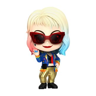 Hot Toys Birds of Prey Cosbaby Mini Figure Harley Quinn (Getaway Look Version) 11 cm