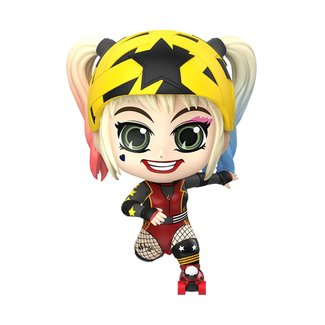 Hot Toys Birds of Prey Cosbaby Mini Figure Harley Quinn (Roller Derby Version) 11 cm