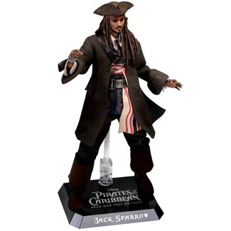Beast Kingdom Pirates of the Caribbean Dynamic 8ction Heroes Action Figure 1/9 Jack Sparrow 20 cm