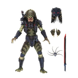 NECA  Predator 2 Action Figure Ultimate Armored Lost Predator 20 cm