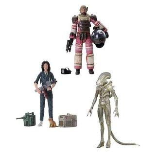 NECA  Alien Action Figure 18 cm 40th Anniversary Series 1 (3)