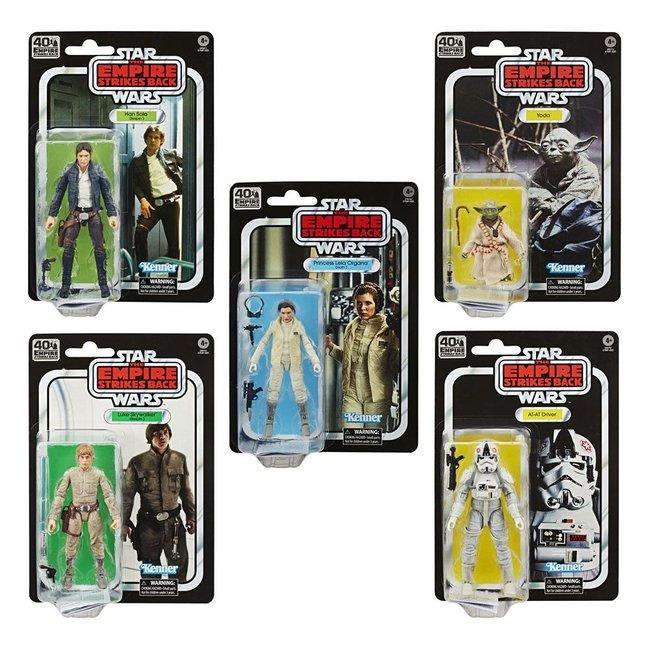 Hasbro Star Wars Episode V Black Series Action Figures 15 cm 40th Anniversary 2020 Wave 1
