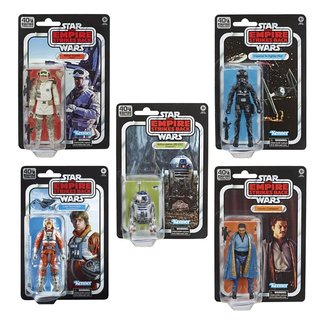 Hasbro Star Wars Episode V Black Series Action Figures 15 cm 40th Anniversary 2020 Wave 2
