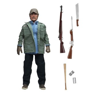 NECA  Jaws Retro Action Figure Sam Quint 20 cm