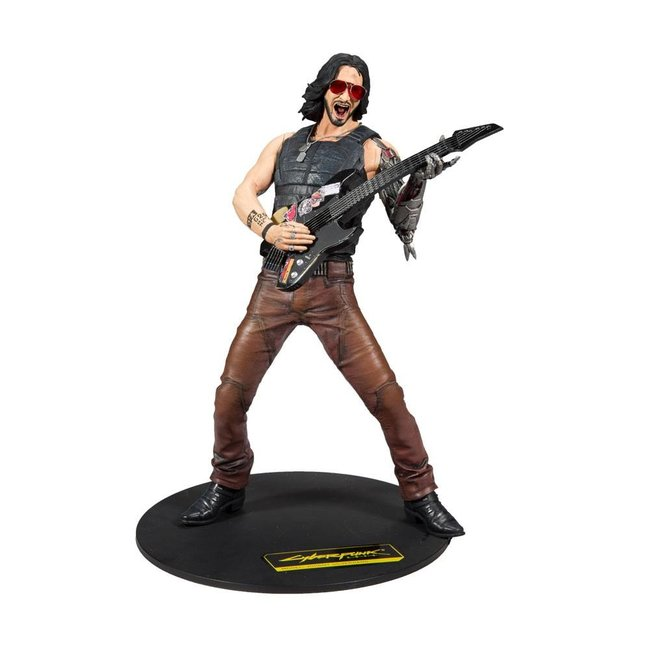 McFarlane Cyberpunk 2077 Action Figure Johnny Silverhand 30 cm