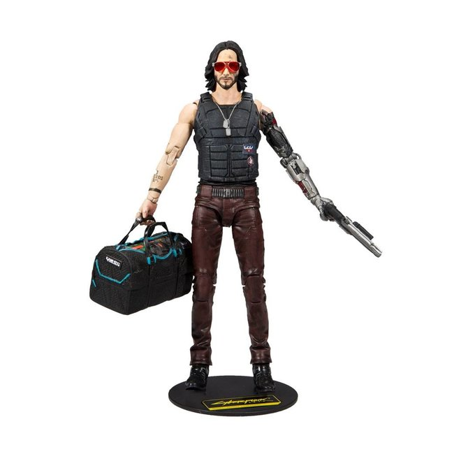 McFarlane Cyberpunk 2077 Action Figure Johnny Silverhand Variant 18 cm