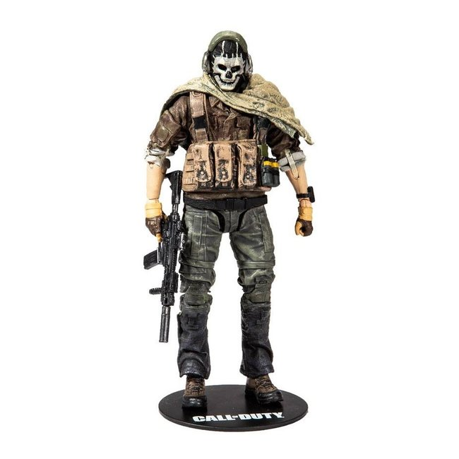 McFarlane Call of Duty Modern Warfare Action Figure Special Ghost