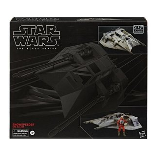 Hasbro Star Wars Episode V Black Series Vehicle with Action Figure 2020 Snowspeeder & Dak Ralter