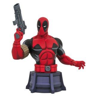 Diamond Select Toys Marvel X-Men Animated Series Bust Deadpool 15 cm