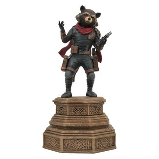 Diamond Select Toys Avengers Endgame Marvel Movie Gallery PVC Statue Rocket Raccoon 18 cm