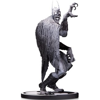 DC Collectibles Batman Black & White Statue Batmonster by Greg Capullo 18 cm