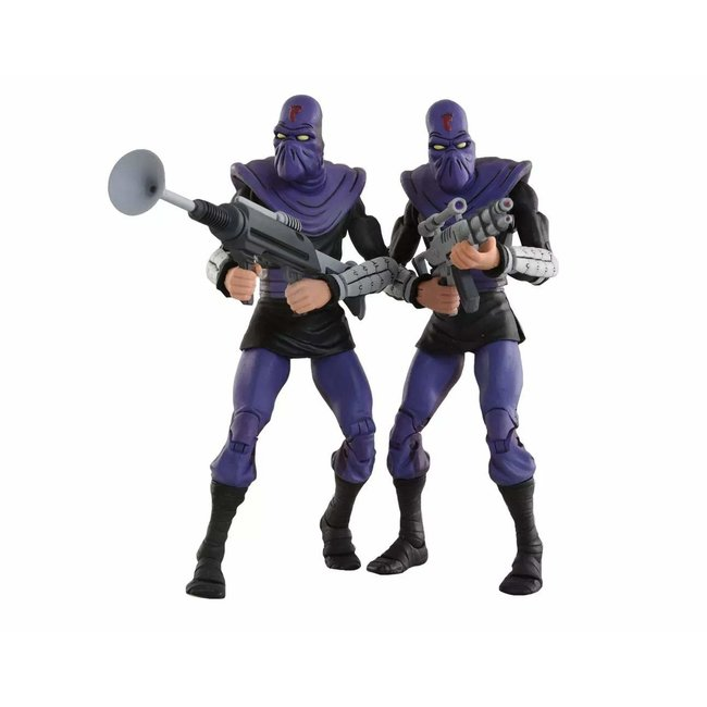 NECA  Teenage Mutant Ninja Turtles Action Figure 2-Pack Foot Soldier 'Army Builder' 18 cm