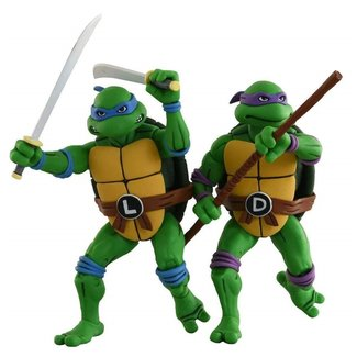 NECA  Teenage Mutant Ninja Turtles Action Figure 2-Pack Leonardo & Donatello 18 cm
