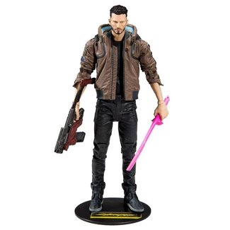 McFarlane Cyberpunk 2077 Action Figure Male V 18 cm