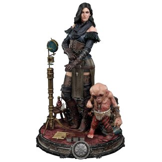 Prime 1 Studio Witcher 3 Wild Hunt Statue Yennefer of Vengerberg Alternative Outfit Deluxe Version 51 cm