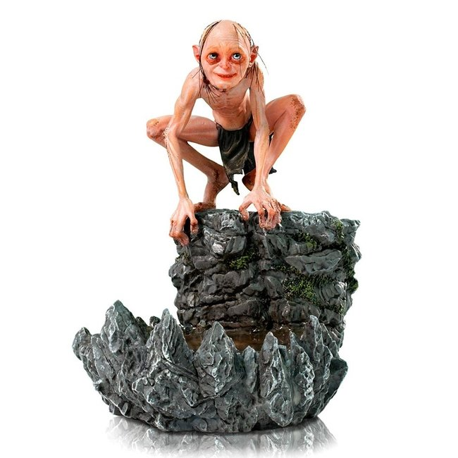 Iron Studios Lord Of The Rings Deluxe Art Scale Statue 1/10 Gollum 12 cm