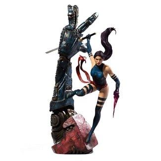 Iron Studios Marvel Comics BDS Art Scale Statue 1/10 Psylocke 28 cm