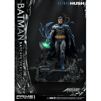 Prime 1 Studio Batman Hush Statue 1/3 Batman Batcave Deluxe Version 88 cm