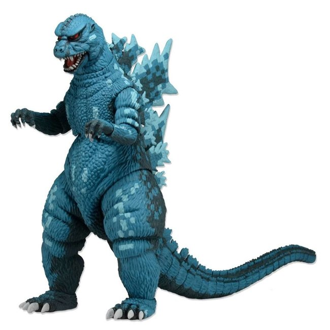 NECA  Godzilla Head to Tail Action Figure 1988 Video Game Appearance 15 cm