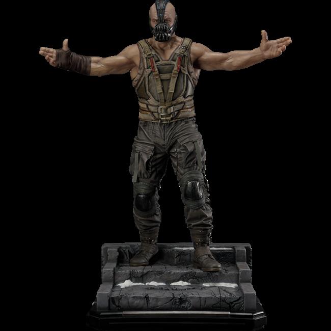 Prime 1 Studio The Dark Knight Rises Statue & Bust 1/3 Bane Ultimate Edition Set