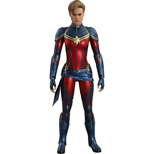Hot Toys Avengers: Endgame Movie Masterpiece Action Figure 1/6 Captain Marvel