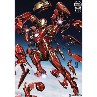 Sideshow Collectibles Marvel Art Print Tony Stark: Iron Man 46 x 61 cm - unframed