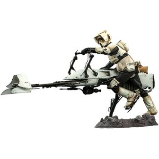 Hot Toys Star Wars The Mandalorian Action Figure 1/6 Scout Trooper & Speeder Bike 30 cm