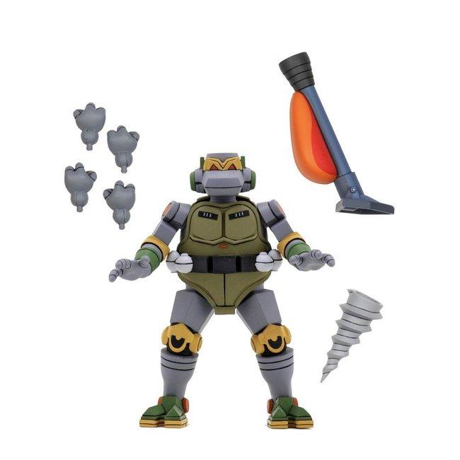 NECA  Teenage Mutant Ninja Turtles Ultimate Action Figure Cartoon Metalhead 18 cm