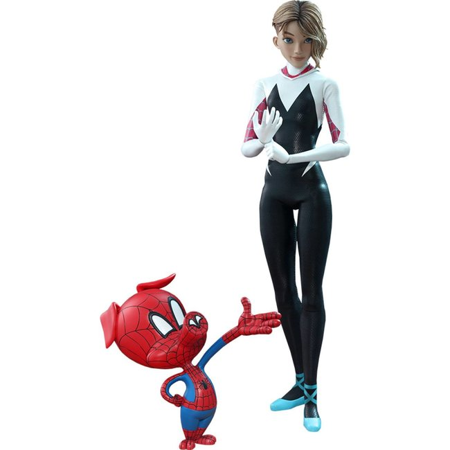 Hot Toys Spider-Man: Into the Spider-Verse Movie Masterpiece Action Figure 1/6 Spider-Gwen 27 cm