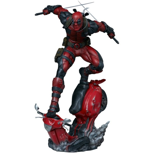 Sideshow Collectibles Marvel Premium Format Statue Deadpool 52 cm