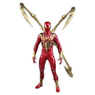 Hot Toys Marvel's Spider-Man Video Game Masterpiece Action Figure 1/6 Spider-Man (Iron Spider Armor) 30 cm