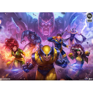 Sideshow Collectibles Marvel Art Print Future Fight: X-Men 46 x 61 cm - unframed