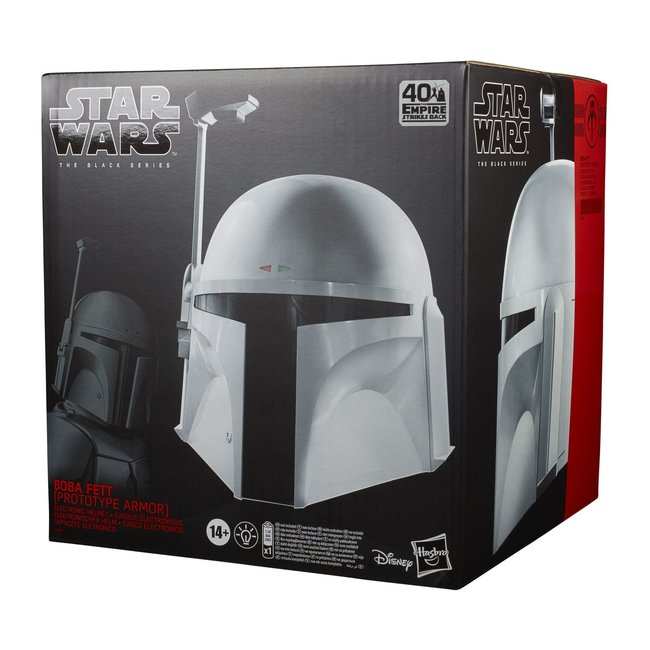 Hasbro Star Wars Episode V Black Series Electronic Helmet Boba Fett (Prototype Armor)