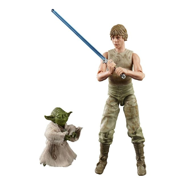 Hasbro Star Wars Episode V Black Series Action Figure 2-Pack 2020 Luke Skywalker and Yoda (Jedi Training)
