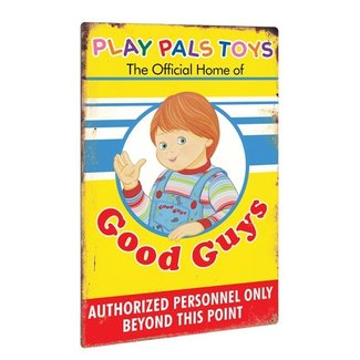 Trick or Treat Studios Child's Play 2: Play Pals Aluminium Sign