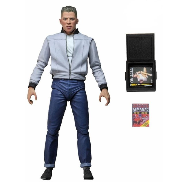Back to the Future Action Figure Ultimate Biff Tannen 18 cm