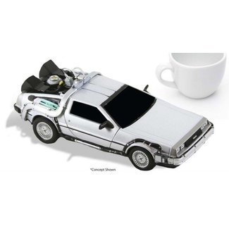 NECA  Back to the Future Diecast Model Time Machine 15 cm