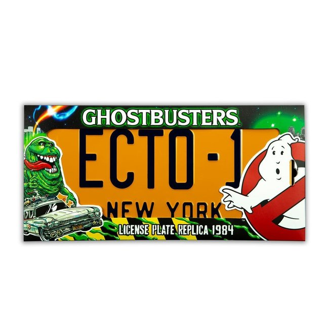 Doctor Collector Ghostbusters Replica 1/1 ECTO-1 License Plate