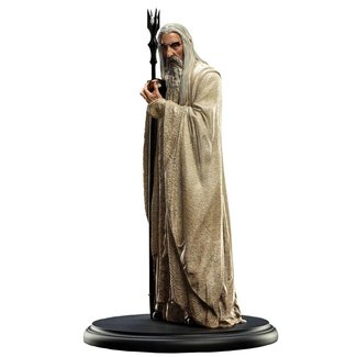 Weta Workshop Lord of the Rings Statue Saruman The White 19 cm