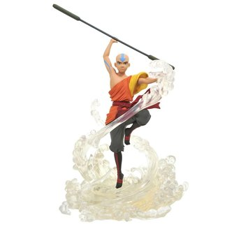 Diamond Select Toys Avatar The Last Airbender Gallery PVC Statue Aang 28 cm