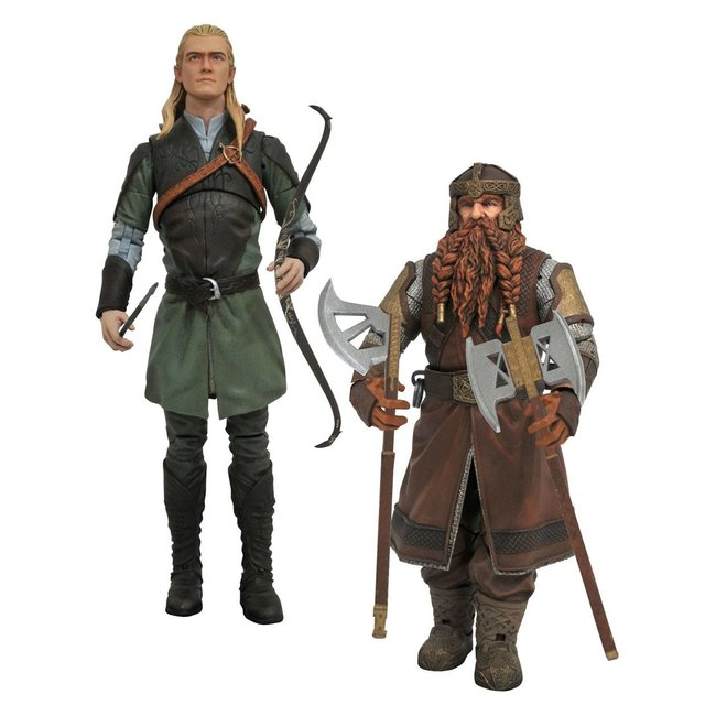 Diamond Select Toys Lord of the Rings Select Action Figures 18 cm Series 1 Set (2)