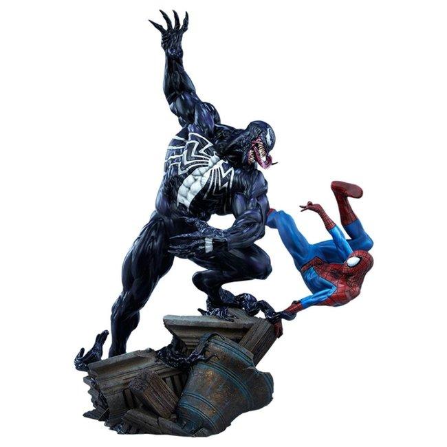 Sideshow Collectibles Marvel Maquette Spider-Man vs Venom 56 cm