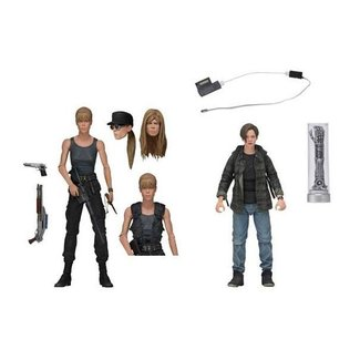 NECA  Terminator 2 Judgment Day Action Figure 2-Pack Sarah Connor & John Connor 18 cm