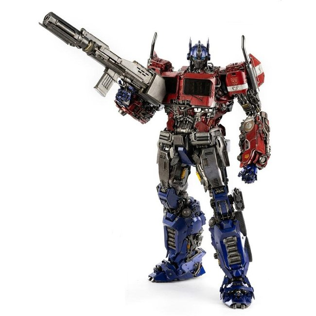 ThreeZero Transformers Bumblebee Premium Action Figure Optimus Prime 48 cm