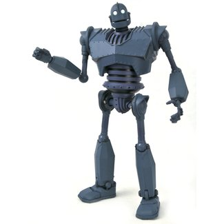 Diamond Select Toys The Iron Giant Deluxe Action Figure Box Set Iron Giant SDCC 2020 Exclusive
