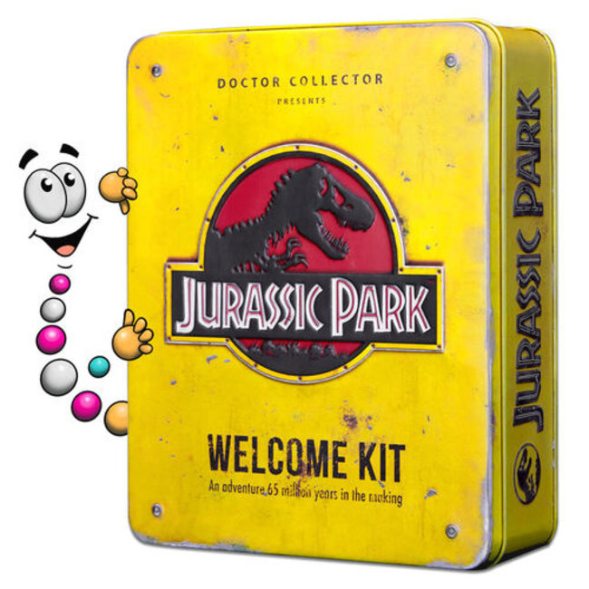 Doctor Collector Jurassic Park: Welcome Kit Amber Edition