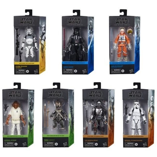 Hasbro Star Wars Black Series Action Figures 15 cm 2020 Wave 3 Assortment (7)
