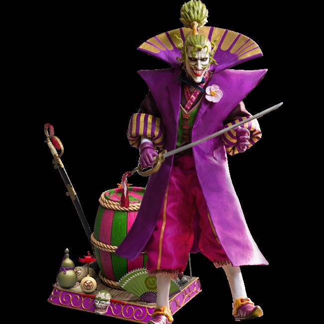 Star Ace Toys Batman Ninja My Favourite Movie Action Figure 1/6 Lord Joker Deluxe 30 cm